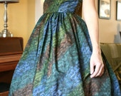 Vintage Full Skirt Dress from Jo Jr Dallas NWT Unworn 1950s