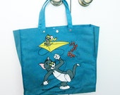 Tom & Jerry, Tom and Jerry Tote bag cool for the beach or anything NOS