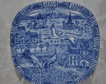 1979: Flying Goose- Rorstrand Christmas Plate