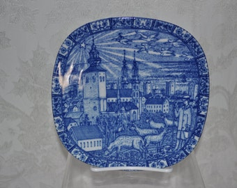 1981: Saintly Shepard- Rorstrand Christmas Plate