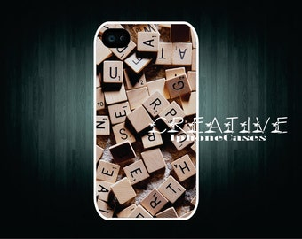 Scrabble tiles iPhone 4 Case 4 iPhone 4s Case Cover