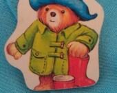 Paddington bear brooch