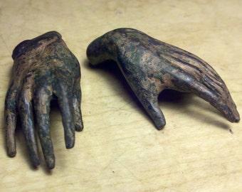 Bronze sculpture Small Hands