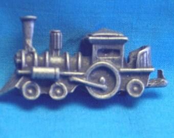 Tiny, Comic, Coal Train Figure, Lead Free, Hand Cast Pewter