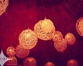 "Azini Photography - 12 x 18 Metallic Print - ""Grapevine Balls Series 1"""