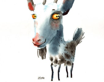 The Spotted Goat , FineArt print
