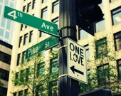 One Love Street Sign Print