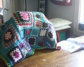 Baby or Toddler quilt made to order crochet granny squares