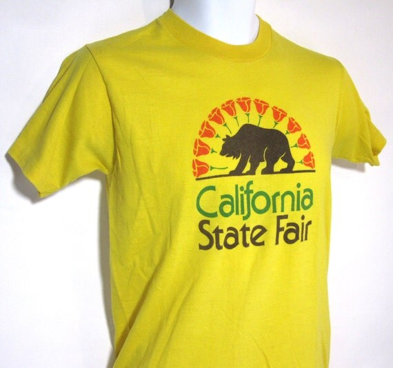 Vintage California State Fair T-Shirt Sz.M 1980's