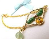 Evil Eye Gold Bracelet