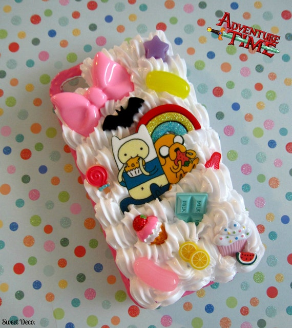 CUSTOM MADE Adventure Time Sweets Phone Case