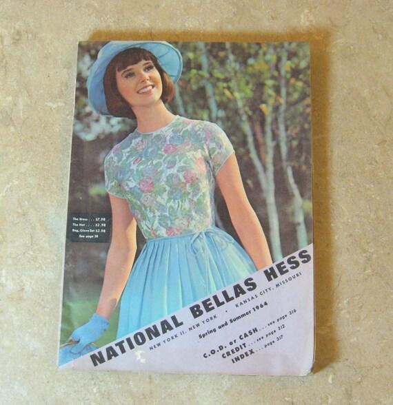 1964 National Bellas Hess Spring - Summer Catalog : Fashion, Housewares, Decor, etc