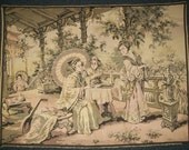 Chinese Tea Ceremony Tapestry