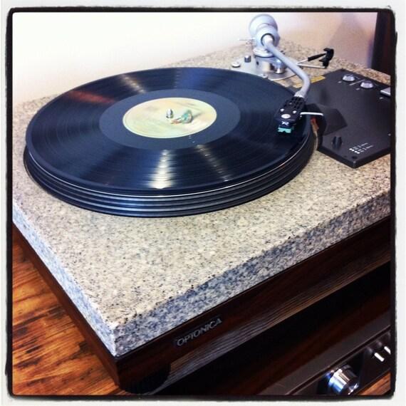 Late 70s Optonica Granite Top Turn Table
