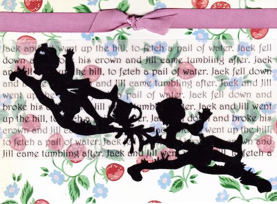 Nursery Rhyme Card - Jack and Jill