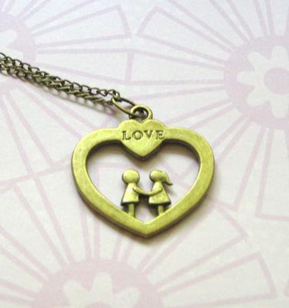 Save 20% - Love Couples Necklace