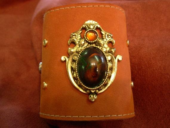 Uniquely Designed Leather cuff