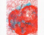 Limited Edition Print on Canvas, Polka Dot The Big Apple, New York City