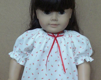 "18"" Doll Clothes - RoseBud Summer Nightgown"