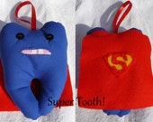 Tooth fairy pillows - 5 to choose from - Super Tooth, Tooth Ballerina, Tooth Monster, Tooth Officer and Tooth Fairy