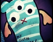 My Little Monster Premade Chipboard Album