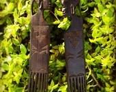 Antique decorative combs - Zimbabwe