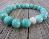 Turquoise Marble and Stardust