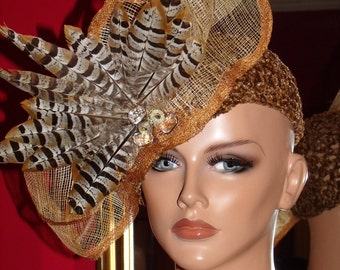 Flapper Hat Cloche 1920 style  Personalized HeaddressCrochet Exclusive   Asymmetrical Bow