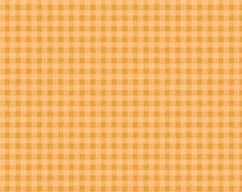 Fabric by the Yard Riley Blake Daydream Caramel Gingham C4505