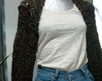 SWEATER WOMAN KNITTED Shrug  Women  Scarf  Shawl  Sweater  Shrug  Poncho Shoulder Cover Sleeves