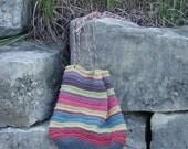 Striped Sling Bag