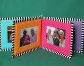 Baby's PHOTO ALBUM soft book sewing pattern family photos children fabric book