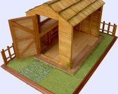 Miniature Potting Shed Un-furnished