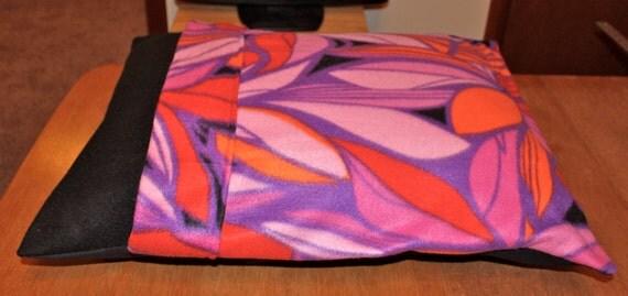 Pink Petals Fleece Dog Bed