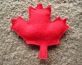 Canadian Maple Leaf Catnip Toy