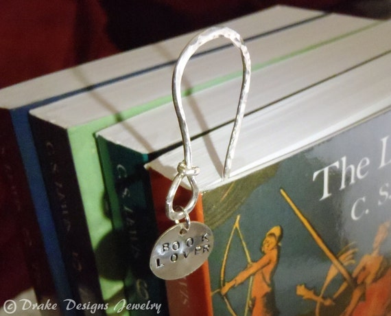 Sterling Silver Bookmark for the Book Lover Graduation Gift Ideas