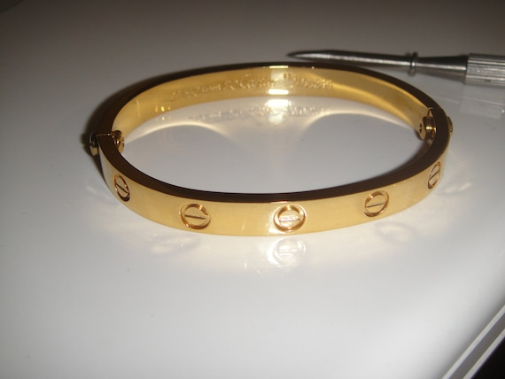 cartier love bangle inspired