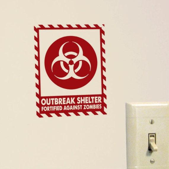 Outbreak Shelter Vinyl Decal
