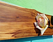 Apple wood plate on your mother