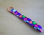 SALE-Polka Dot Keychain