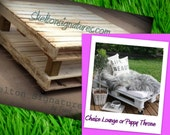 Backyard Patio Rolling Pallet Furniture or Kids Table or Coffee Table