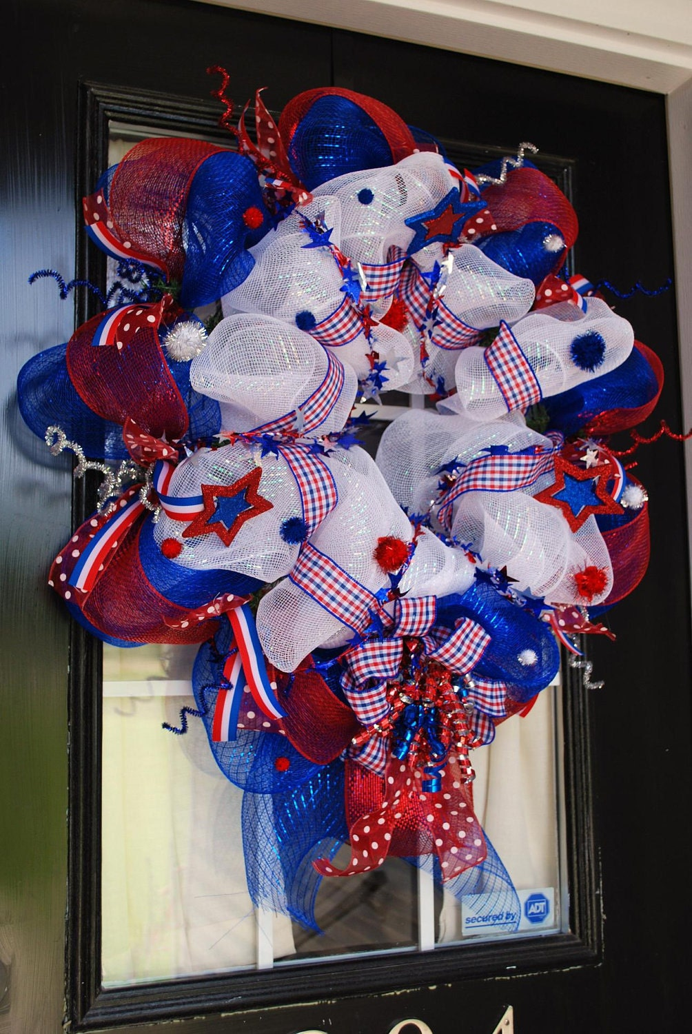 Memorial Day Amp 4th Of July Deco Mesh Wreath