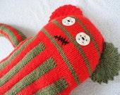 Freddy Hand Knitted Monster