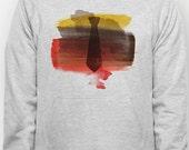 Watercolor Necktie hoodie