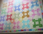 Water Color Collection Queen sized quilt