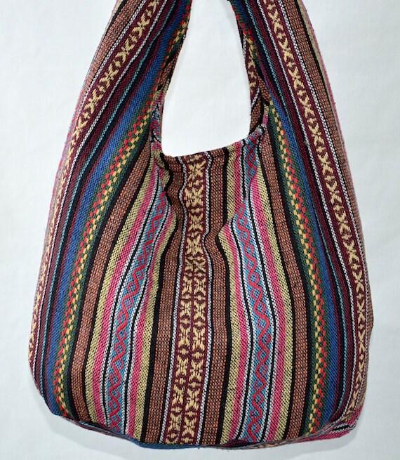 Thai Handmade Hobo Boho Sling Messenger Bag Cross body PNP5103