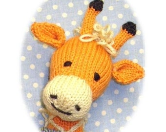Knitting Patterns For Giraffe Free : Popular items for knit toy on Etsy