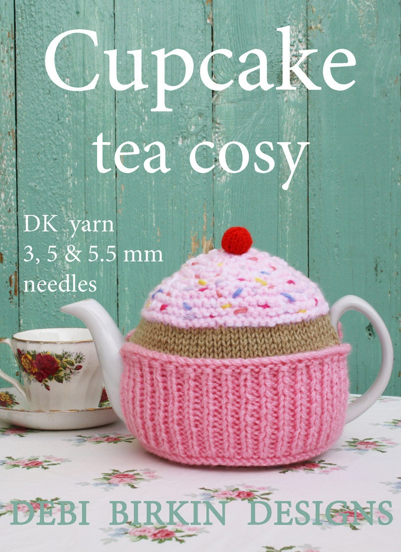 cupcake knitting pattern tea cosy teacozy teacosy cozies cozy