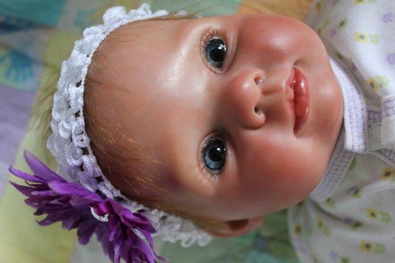 "Beautiful, Realistic Newborn Reborn doll ""Dumplin"" sculpt by Donna RuBert"
