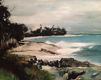 Seascape of Aguadilla Bay